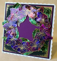 FANTASY FLORAL – May 2013   Sheena Douglass - Crafts, Papercrafting, Stamps, Create & Craft