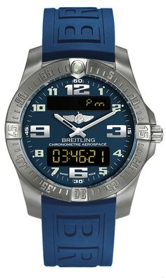 E7936310/C869-158S NEW BREITLING AEROSPACE EVO MENS WATCH FOR SALE IN STOCK - Click to View our Doorbuster Watch Specials!   - FREE Overnight Shipping | Lowest Price Guaranteed    - No Sales Tax (Outside California)- With Manufacturer Serial Numbers- Blue Dial- Perpetual Day