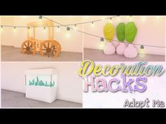 8 Decoration Hacks 🎍🌷 | Adopt Me - Building Hacks - YouTube Home Roblox, Unicorn Rooms, Modern Family House, Futuristic Home, Disney Decals, Cute Room Ideas, Roblox Pictures, Building For Kids, Hacks