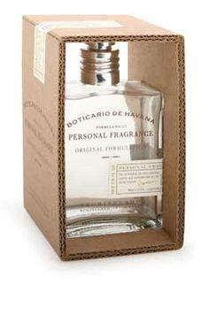 Boticario de Havana Personal Fragrance in a cardboard packaging