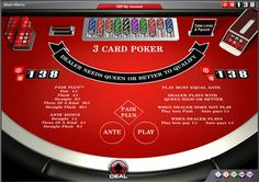 3 #Card #Poker - #games #online #casino #138.com