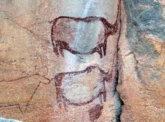 San Rock Art (Botswana). 'The Tsodilo Hills, Botswana's only Unesco World Heritage Site, are sometimes referred to as the 'Louvre of the Desert'. More than 4000 ancient paintings, many dating back thousands of years, adorn the caves and cliffs of these picturesque mountains, which remain a sacred site for the San people.