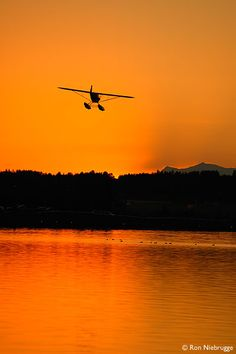 go for a ride in a float plane - check