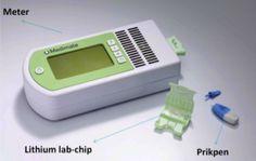 Medimate-mini-lab lithium level blood analyzer
