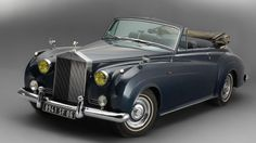 1962 Rolls-Royce Silver Cloud II Convertible Coupé by H.J. Mulliner (chassis LSAE 637, design 7504)