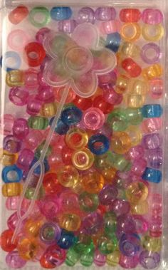Multi Transparent Pony Beads Hair Beads, Pony Beads, Girls Hair Accessories, Slime, Girl Hairstyles, Bead, Lima, Little Girl Hair, Undercut Hairstyles Women