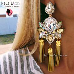 NOVINKA !!!!HELENADIA.kúpite na našom eshope. Unikátne, jedinečné, exkluzívne ručne vyrábane šperky HelenaDia....  Náušnice HelenaDia Kaylee http://femmefashion.sk/helenadia/2890-nausnice-helenadia-kaylee.html