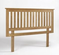 ASHTON Oak Headboard - Double
