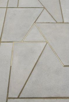 Concrete & gold…