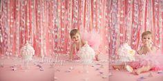 fabulous backdrop! And birthday girl. Heidi Hope Photography