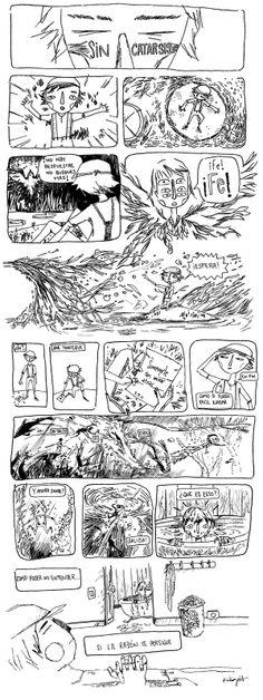 """sin Catarsis"" por Kikayis. comic para CAribe Comic"