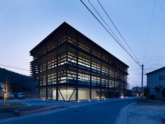 suppose design office . Office building . Imabari