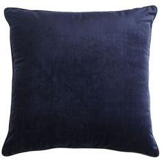 Indigo Plush Pillow