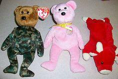 Ty Beanie Babies Easter Egg 2008 Military Hero Camo Bear & Snort Bull Retired - http://hobbies-toys.goshoppins.com/beanbag-plush/ty-beanie-babies-easter-egg-2008-military-hero-camo-bear-snort-bull-retired/