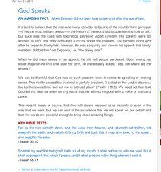 The blueprint gods gps gospel plan of salvation by ivor myers amazing fact albert einstein didnt learn how to speak until he was two malvernweather Gallery