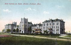State Institute for the Feeble Minded, 1900s, Faribault, Minnesota