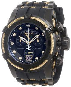 Invicta Men's 12299 Bolt Zeus Reserve Chronograph Black Dial Black Polyurethane Watch - http://www.specialdaysgift.com/invicta-mens-12299-bolt-zeus-reserve-chronograph-black-dial-black-polyurethane-watch/