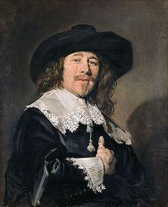 Frans Hals - Portrait of a gentleman At Pommersches Landesmuseum, Greifswald. This was so hard to find anywhere online! It's just utterly amazing in reality, so lifelike - to me one of the best by Frans Hals that I've seen in person so far!
