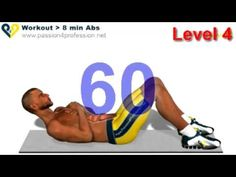 Abs workout how to have six pack - Level 4 - YouTube