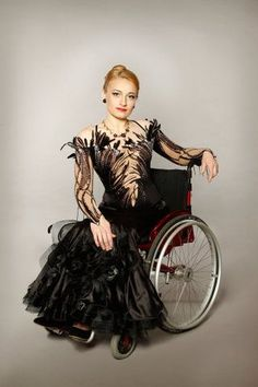 Wheelchair dance constume
