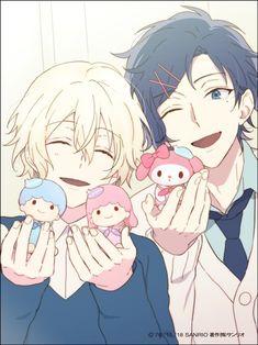 Cute Anime Pics, Cute Anime Boy, Anime Boys, Sanrio Hello Kitty, Little Twin Stars, Sanrio Danshi, A Silent Voice, Shounen Ai, Kids Icon