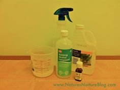 New & Improved All-Purpose Cleaner:  good for floors, laminate, stainless steel, windows.  Doesn't leave streaks.