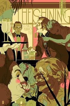 The Shining - A Night to Remember at The Overlook Hotel by Tomer Hanuka