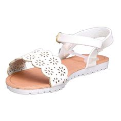 Coshare Kid's Fashion Girl Open Toe Flat Sandals (with Coshare Free Stickers) * Don't get left behind, see this great  product : Girls sandals