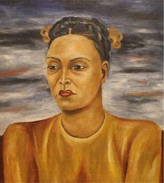 Maria Izquierdo, self portrait 1947