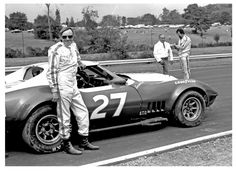 Canonsburg PA's Don Yenko with his A/S Corvette