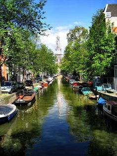 Canals of Amsterdam - visit our blog for Amsterdam travel advice!