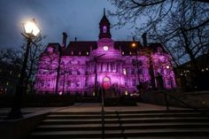 Montreal lights up for Prince