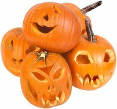 Carved Pumpkins Unique Face Decorating Ideas