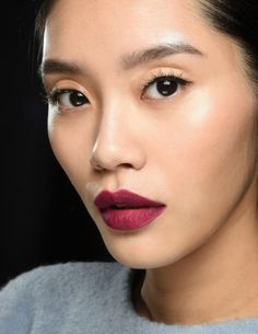 We're all about statement lips this season! Love it!