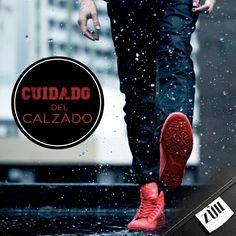 #Tip Si tus zapatos se mojan, sécalos con un trapo o cúbrelos con periódico, es importante mantenerlos secos.
