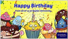 Happy Birthday From All Of Us At Kaplan University