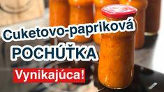 Cuketovo-papriková pochúťka Salsa, Youtube, Jar, Food, Salsa Music, Restaurant Salsa, Jars, Youtubers, Meals