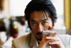 Japanese actor Hiroyuki Sanada poses for a portrait session during the Berlin International Film Festival on February 2006 in Berlin, Germany. Get premium, high resolution news photos at Getty Images Chiba, Samurai Clothing, Handsome Asian Men, Doctor Strange, International Film Festival, Asian Style, Beautiful Eyes, Gentleman, Eye Candy