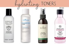 Recommendations for hydrating toners that you can add to your morning and evening skincare routines. Hydrating Toner, K Beauty, Skincare, How To Apply, Personal Care, Bottle, Self Care, Skincare Routine, Personal Hygiene