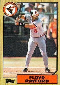1987 Topps #426 Floyd Rayford - Baltimore Orioles (Baseball Cards) by Topps. $0.88. 1987 Topps #426 Floyd Rayford - Baltimore Orioles (Baseball Cards)