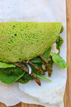 Gevulde spinaziepannenkoek – Plantbased