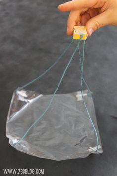 Plastic Bag Parachute - seven thirty three