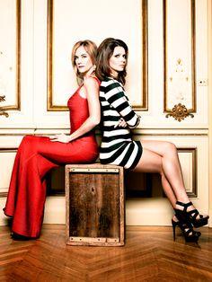 One Life to Live 2013 Blair and Tea (Kassie DePaiva & Florencia Lozano)