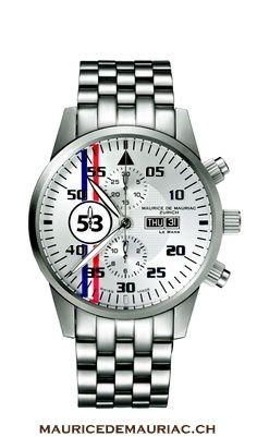 Luxury Swiss made watches from Maurice de Mauriac.   http://mauricedemauriac.ch/  watches for men