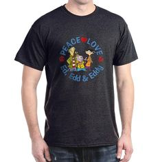Peace, love and Ed, Edd and Eddy gear for the fans of the funny Cartoon Network cartoon classic.