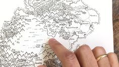 How to draw landmarks fantasy map making tutorial for dd crafts fantasy map making world building gumiabroncs Gallery