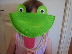 science crafts for kids | Learning Ideas - Grades K-8 Frog Paper Bag Puppet Crafts Project | PreK | Pinterest | Crafts Bags and For kids & science crafts for kids | Learning Ideas - Grades K-8: Frog Paper ...