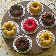 Forma Bolo Silicone Torta Pudim Cozinha Doces Assadeira Bunt Cakes, Tea Cakes, Cupcake Cakes, Mini Desserts, Dessert Recipes, Cake Packaging, Buttercream Cake, Love Cake, Food Gifts