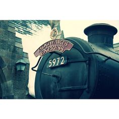Platform 9 3/4 [Two] (HQ) by ChronicTortuga ❤ liked on Polyvore featuring harry potter