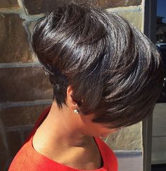 ✨ Short Haircut Styles, Short Bob Hairstyles, Pretty Hairstyles, Short Styles, Girl Hairstyles, Short Sassy Hair, Short Hair Cuts, Natural Hair Styles, Curly Hair Styles